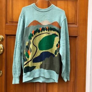 Sweaters - Golf Course Oversized Comfy Sweater